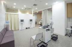 Luce三鷹ゆかり眼科の視力検査室